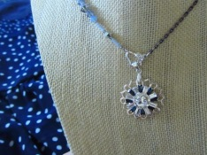 The Filigree Compass Necklace