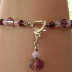 The bracelet will look like this.