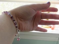 Voila! Instant crystal bracelet - on demand for your fashion pleasure!